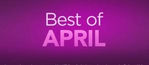 Cele mai bune aplicatii ale lunii aprilie