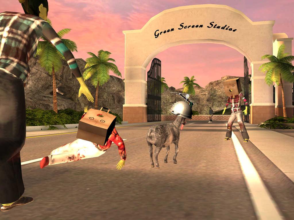 Goat Simulator GoatZ - iDevice.ro