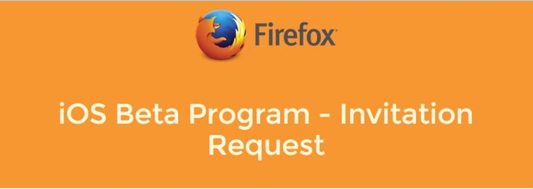 Mozilla beta program
