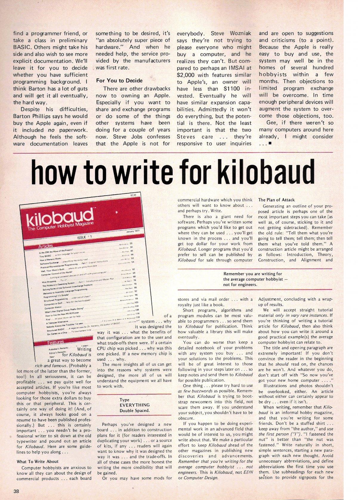 Primul articol despre Apple intr-un ziar 3