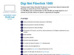 RCS RDS creste vitezele Digi Net Fiberlink