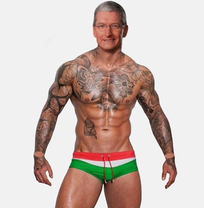 Tim Cook tatuat Apple Watch - iDevice.ro