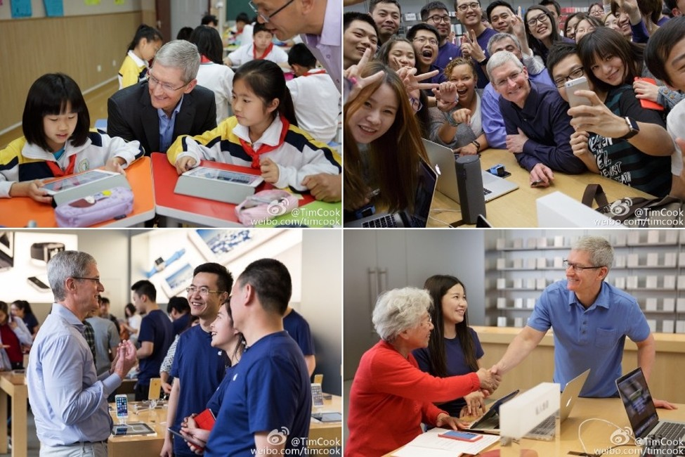 Tim Cook viziteaza China