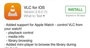 VLC Apple Watch