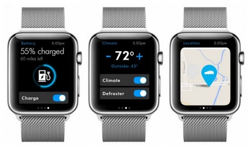 aplicatie Volkswagen Apple Watch