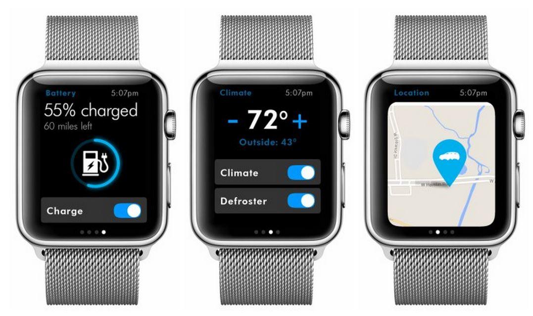 aplicatie Volkswagen Apple Watch