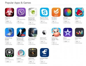 aplicatii populare