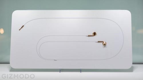 casti earpods din aur