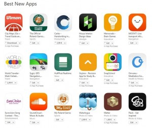 cele mai bune aplicatii noi apple
