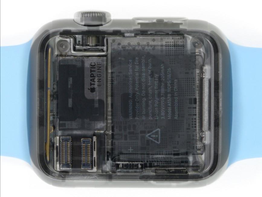 chip S1 Apple Watch scanat raze X 1 - iDevice.ro
