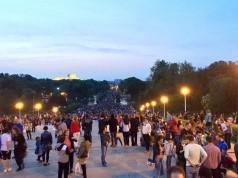 festivalul luminii 2015 Parcul Carol