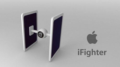iFighter Star Wars Apple concept - iDevice.ro