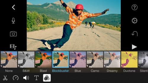 iMovie iPhone