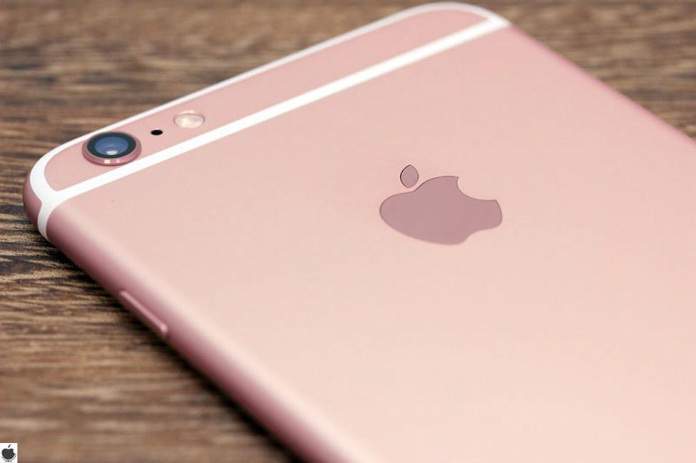 iPhone 6S placat cu aur