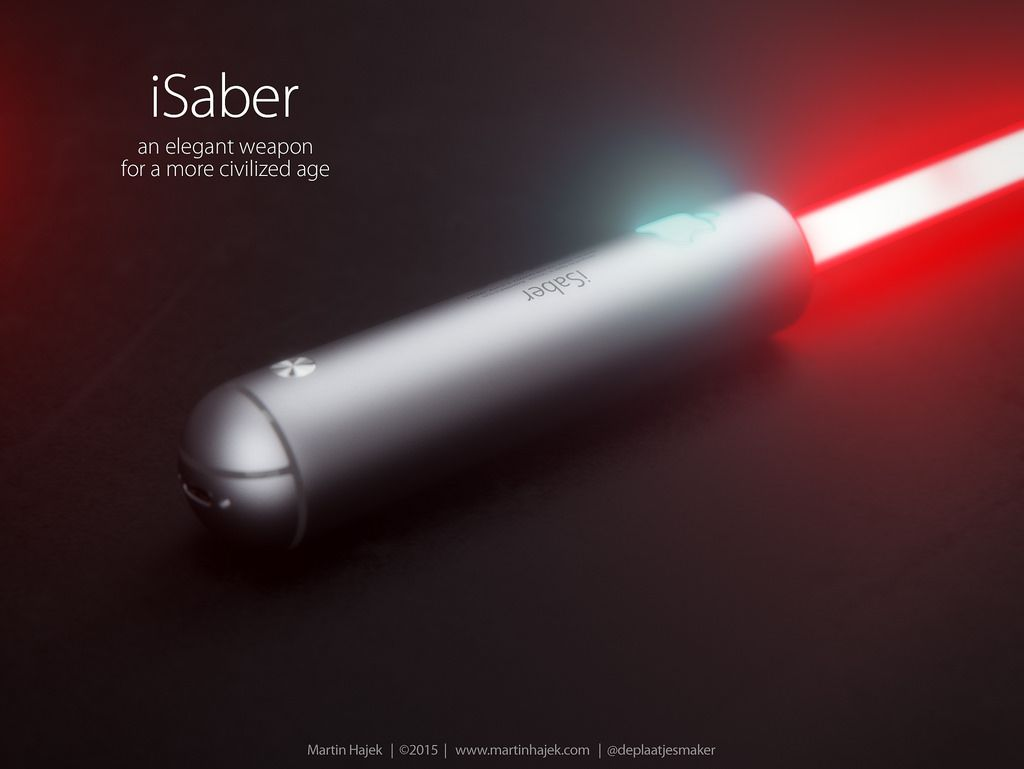 iSaber Star Wars Apple concept - iDevice.ro