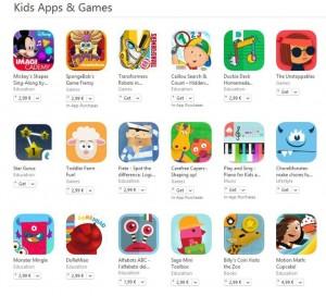 jocuri pentru aplicatii si copii