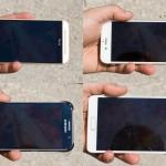 test ecran afisare imagini aer liber iPhone 6 vs Galaxy S6 vs One M9 vs Galaxy Note 6 1