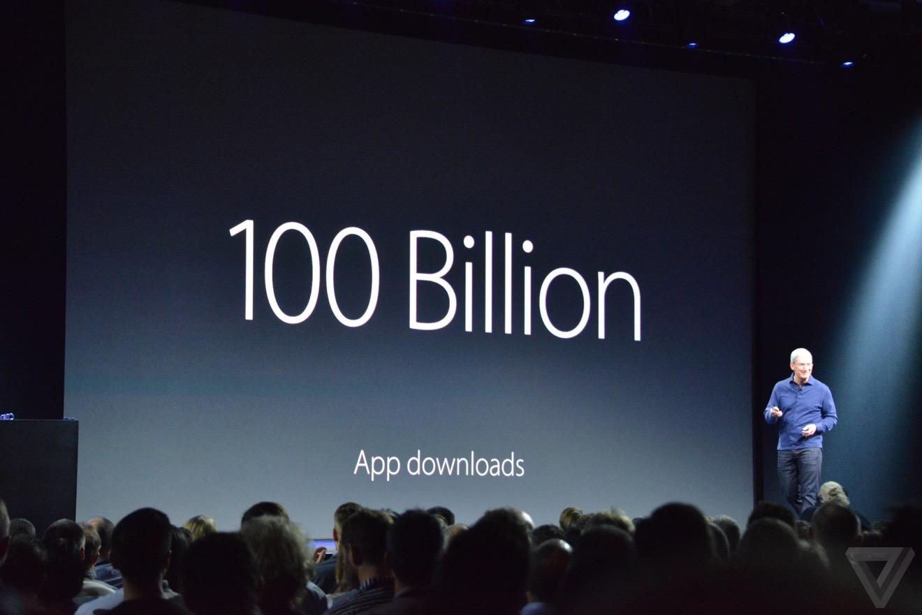 100 miliarde aplicatii