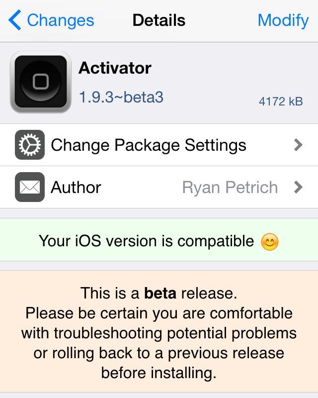 Activator 1.9.3 beta 3