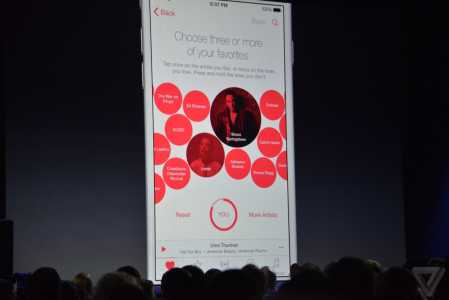 Apple Music aplicatie Muzica