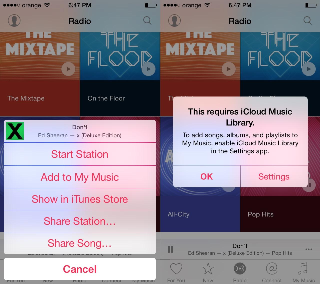 Apple Music ascultare muzica offline 1