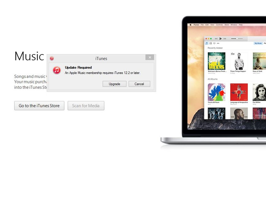 Apple Music iTunes 12.2