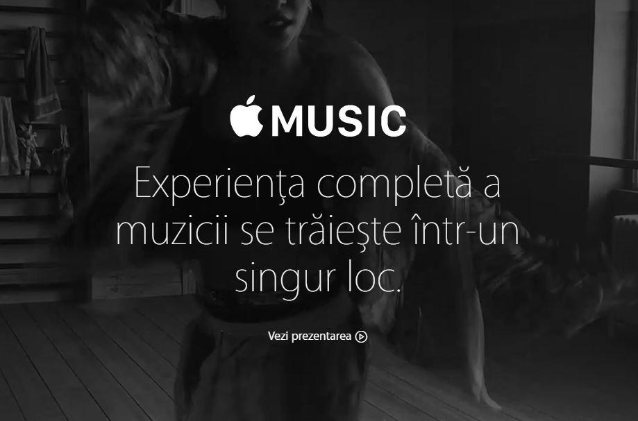 Apple Music oficial Romania