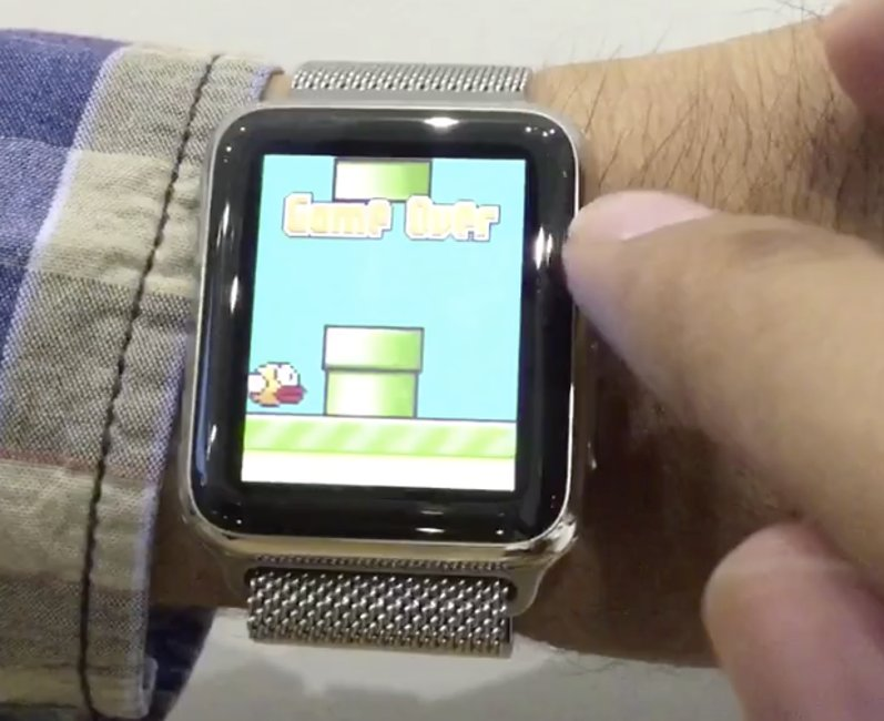 Apple Watch Flappy Bird