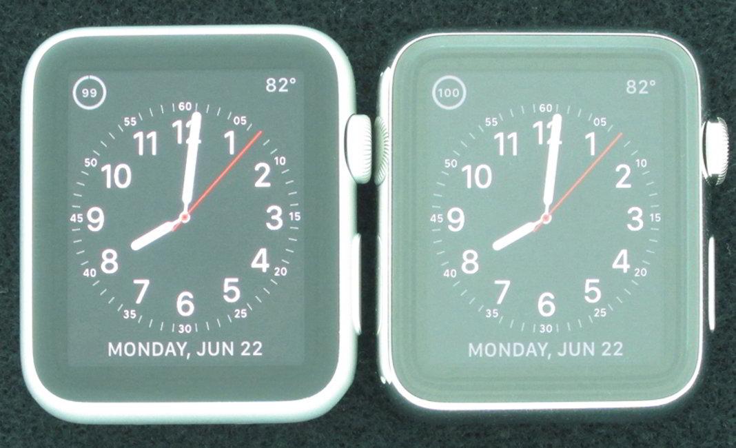 Apple Watch Sport ecran bun