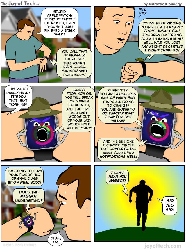 Apple Watch motivatie sport