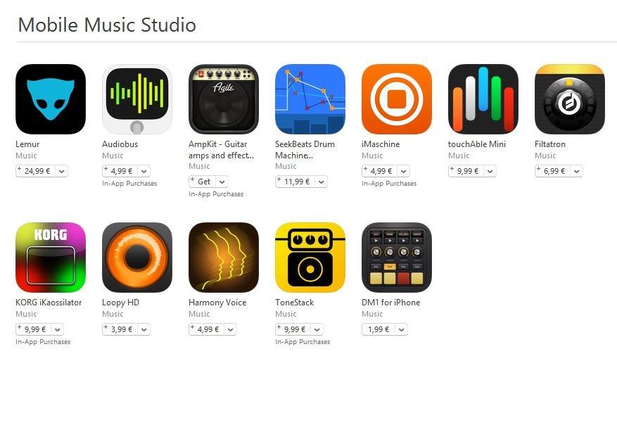 Mobile Music Studio