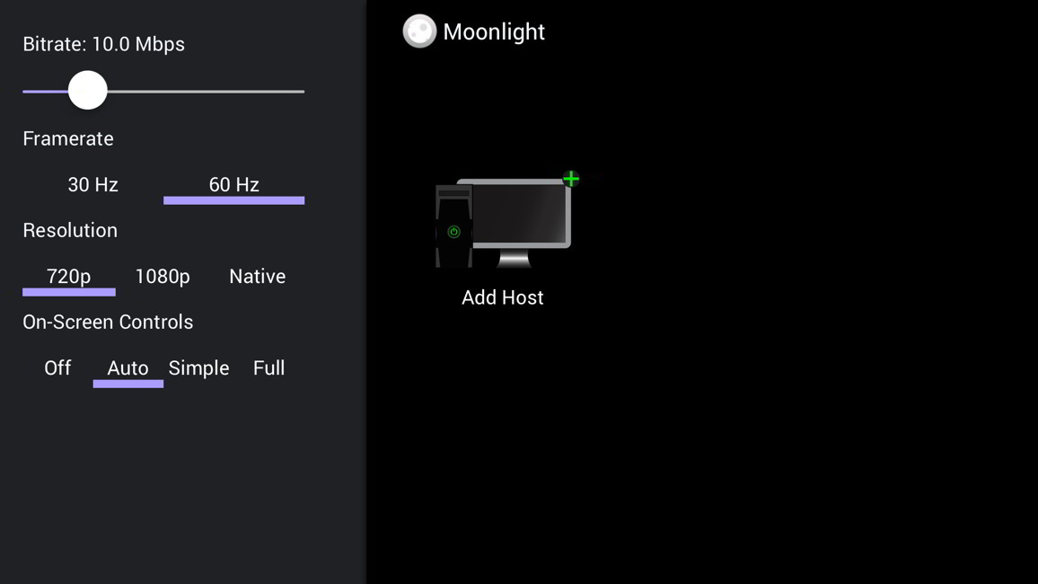 Moonlight streaming Steam iOS