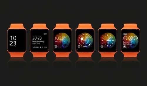 Moonraker Microsoft smartwatch 2