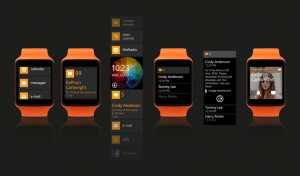 Moonraker Microsoft smartwatch