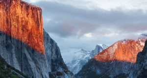 OS X El Capitan wallpaper Mac front
