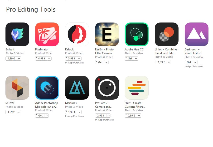 Pro Editing Tools