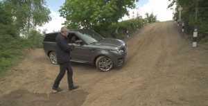 Range Rover controlat iPhone