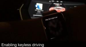 Siri pornire Tesla