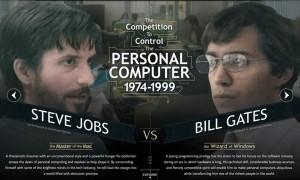 Steve Jobs BIll Gates