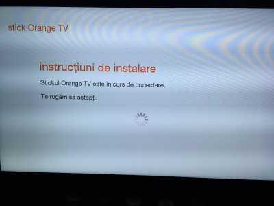 Stick Orange TV functionare 4