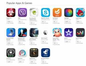aplicatii populare iPhone si ipad