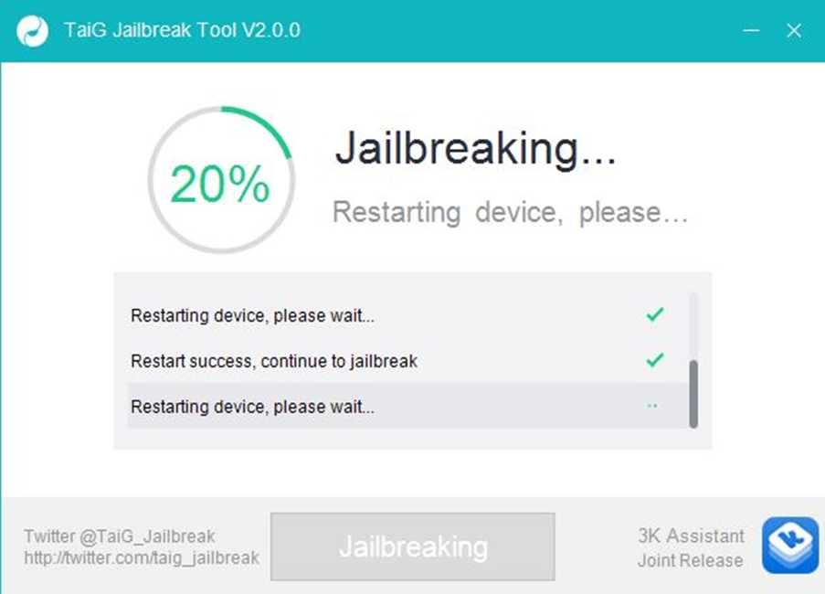 iOS 8.3 jailbreak blocat la 20%