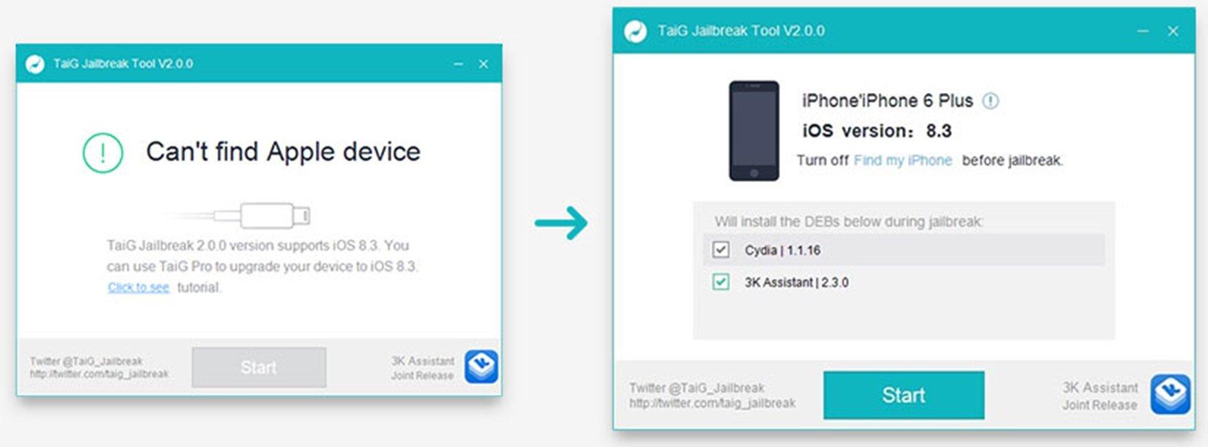iOS 8.3 jailbreak iPhone iPad