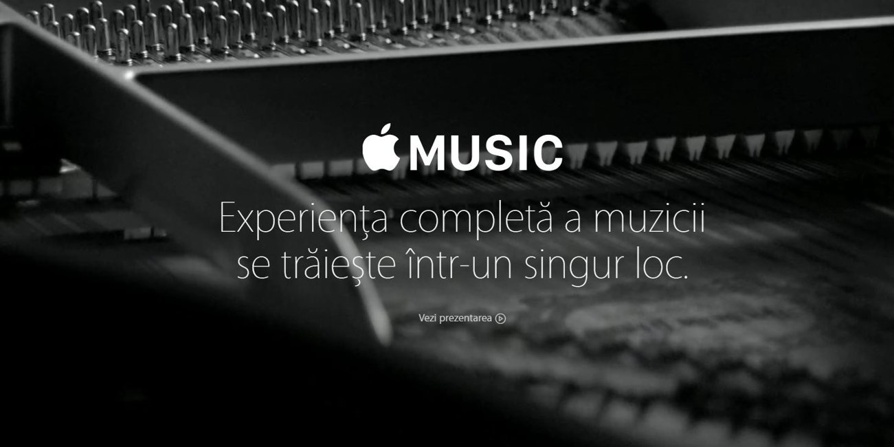 iOS 8.4 lansat Apple Music Romania