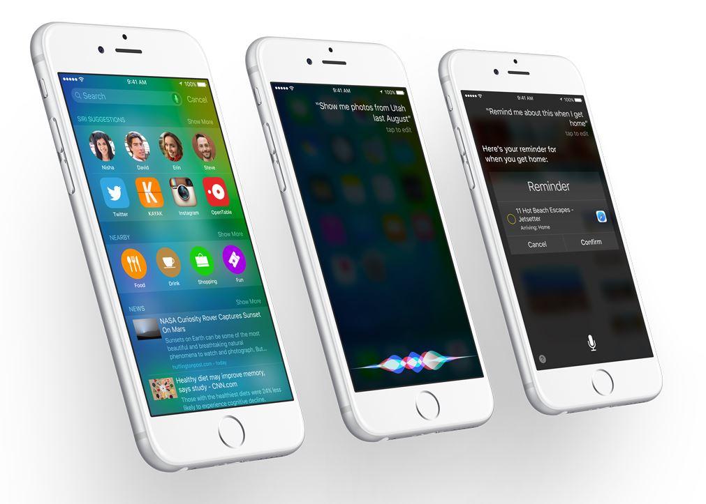 iOS 9 Siri Proactive