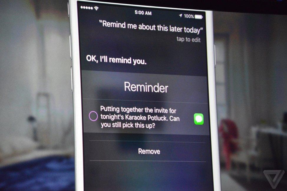 iOS 9 Siri apel urgenta