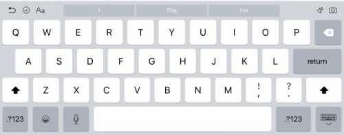 iOS 9 beta 2 tastatura iPad