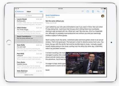 iOS 9 iPad Picture in Picture doua aplicatii in acelasi ecran
