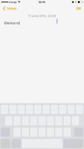 iOS 9 iPhone tastatura touchpad