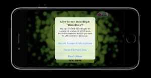 iOS 9 inregistrare ecran replaykit